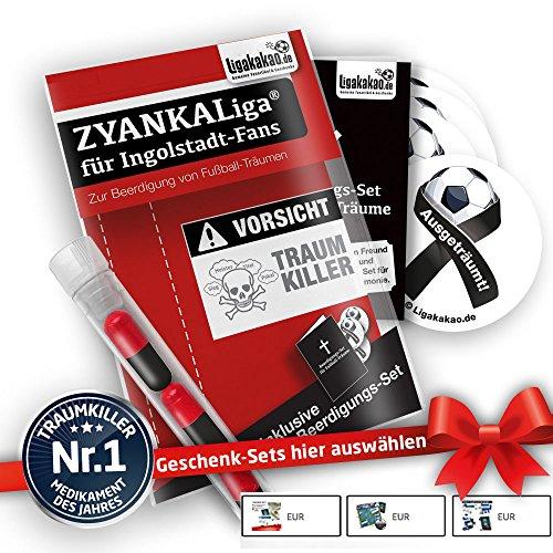 Ingolstadt 04 Home Trikot ist jetzt ZYANKALIGA für FCI Fans by Ligakakao.de Puma Herren Home Shirt Replica mit Logo rot-schwarz