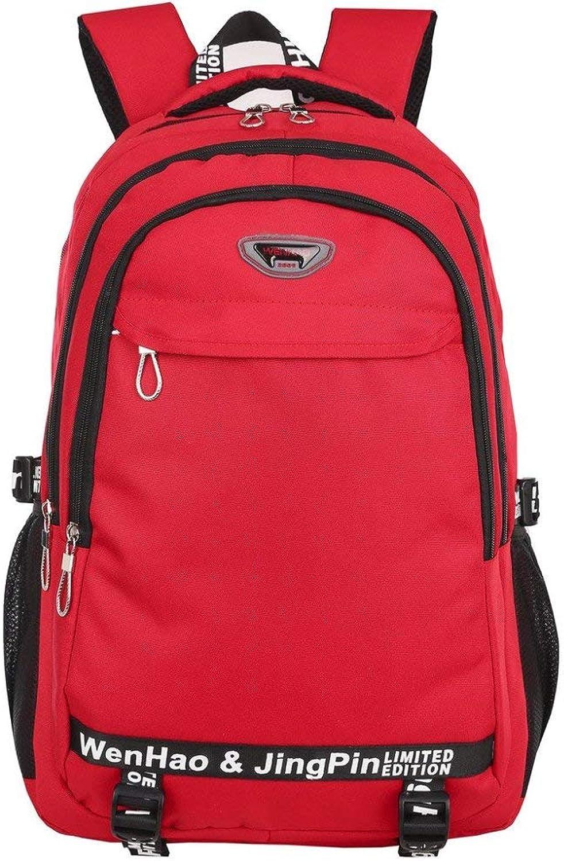 RUMIAO autobusiness Laptop Backpack Computer di Viaggio Zaini Borsa per Laptop Impermeabile per Gli Uomini Donne,rosso