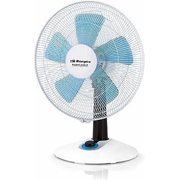 Orbegozo TF 0148 - Ventilador de sobremesa silent night, 4 velocidades, función turbo, 60 W, color blanco: Orbegozo: Amazon.es: Hogar