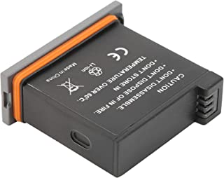 Replacement Battery for Camcorder, Rubber Camera Battery Waterproof Plastic 1300mAh for OSMO Sports Camera Accessory