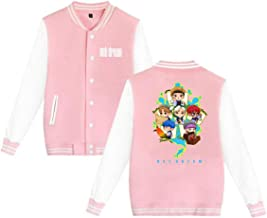 NCT 127 Kpop Unisex Baseball Jackets Casual Varsity Short Coats Outwear