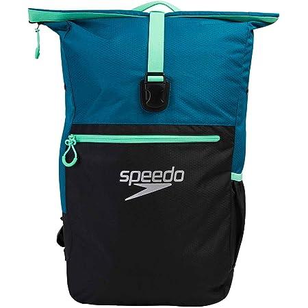 Speedo Team Rsck III Schwimmzubehör, Unisex, Erwachsene, nordisches Teal/Black/Green Glow, Einheitsgröße