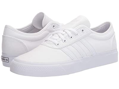adidas Skateboarding Adi-Ease (Footwear White/Crystal White/Footwear White) Skate Shoes