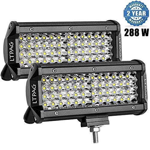 2 x 288W Scheinwerfer LED Zusatzscheinwerfer, LTPAG 7