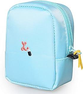 口紅リップグロス 刺繍 ミニ ポーチ バッグインバッグ レディース 可愛い マルチポーチ お化粧 小物入れ ミニ バッグ