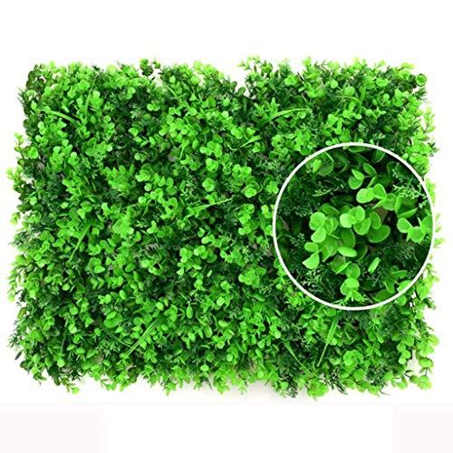 YNFNGXU Planta artificial de decoración de fondo valla de jardín, valla de privacidad de la valla para jardín patio decoración 60x40cm