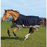 Horseware Amigo Mio Turnout Medium 200g Füllung Navy & Tan Weidedecke Winterdecke 115-160 (125)