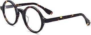 HEPIDEM Acetate Men Vintage Round Optical Glasses Frame...