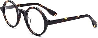 Acetate Men Vintage Round Optical Glasses Frame...