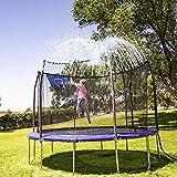 INMUA Trampolin Sprinkler, Outdoor Trampolin Wasserpark Sprinkler, Trampolin-Sprühwasserpark Summer Water Fun Sprayer für Jungen Mädchen (10M / 32.8FT)