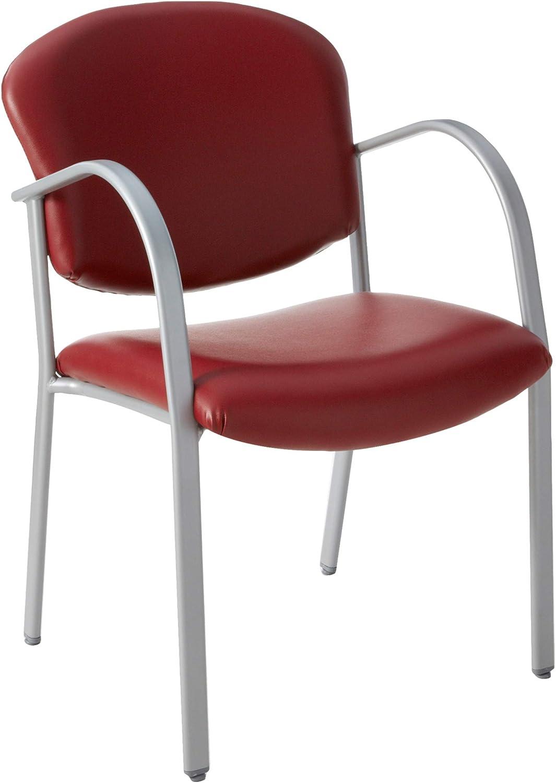 OFM 414-VAM-603 Contract Guest Vinyl Chair, Wine