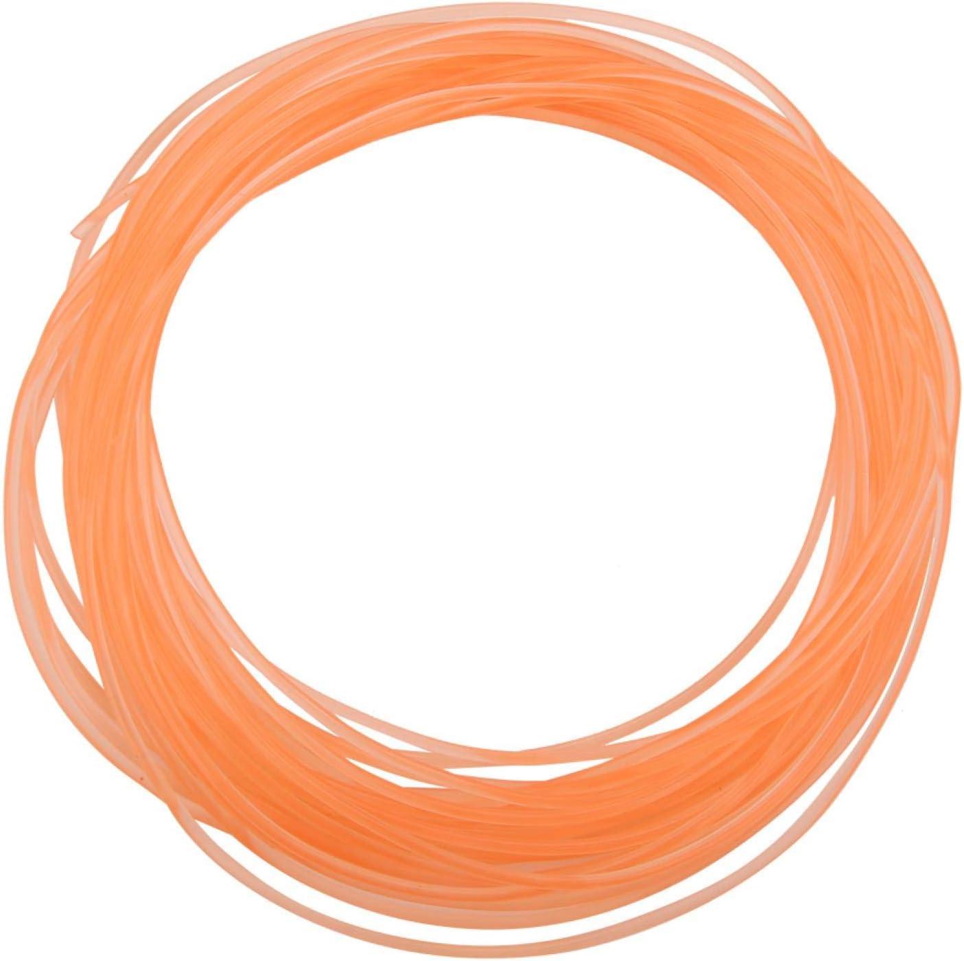 Max 68% OFF Round Belt Orange Smooth PU Columbus Mall for Polyurethane Surface
