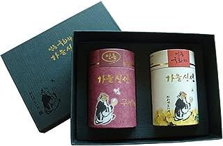 Tea Gift Box #8 (Chrysanthemum Tea 20G + Goji Berry 60G) Product of Korea