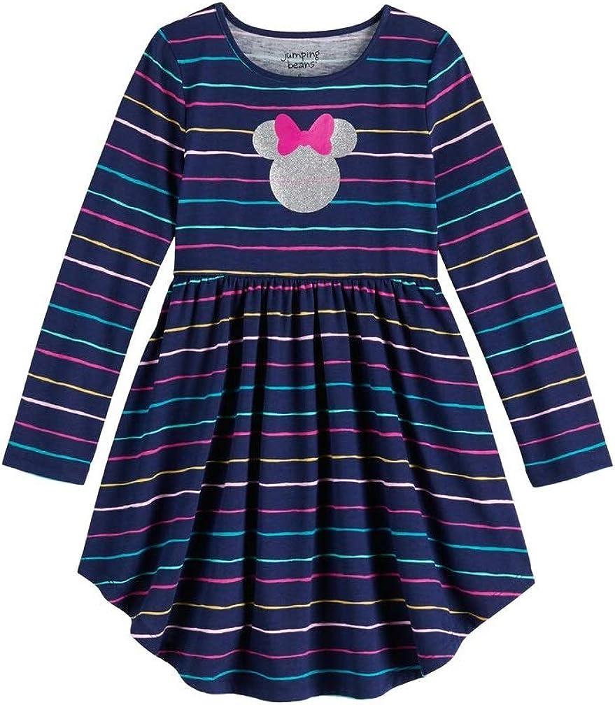 Disney Toddler Girls Jumping Beans Minnie Mouse Raglan Dress
