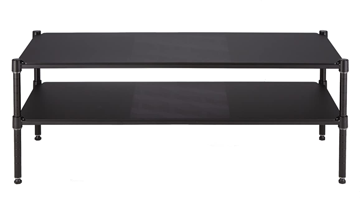 広告扱う熟したホームエレクター ローボード ブラック 45×120×45 アークシェルフ ローボードセット