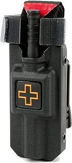 Eleven 10 Rigid TQ Case for Generation 7 C-A-T Tourniquet Belt Tek-Lok Attachment Fits Generation 7 and Previous Versions of The CAT Tourniquet (Tourniquet Not Included)