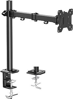 HUANUO Support Bras Ecran PC, Support Écran 13-32 Pouces LCD LED Moniteur Réglable Pivotant, 2 Options de Montage, VESA 7...