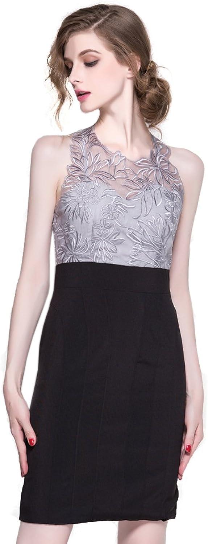 Joy EnvyLand Embroidered Sheath Bodycon Cocktail Prom Party Night Club Dress