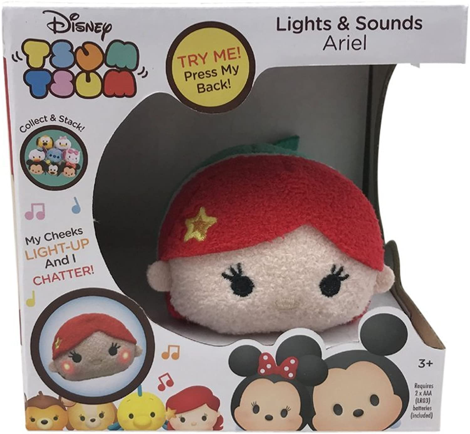 DISNEY LIGHTS AND SOUND TSUM TSUM (ARIEL)