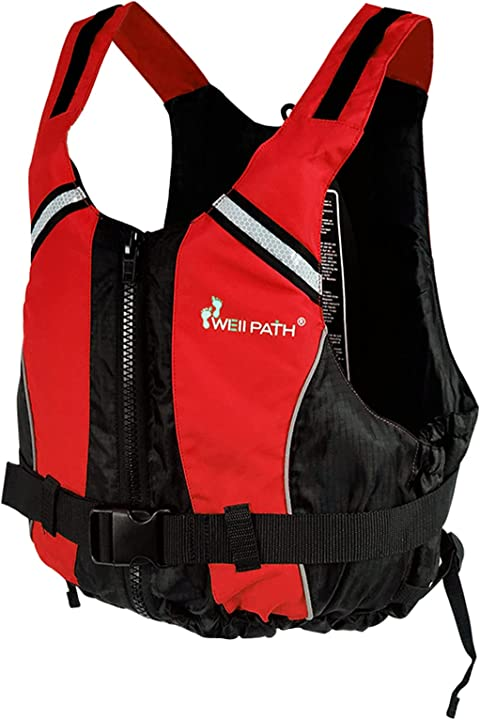 Giubbotto salvagente per adulti taglia per sport acquatici giubbotto salvagente giubbotto kayak wellpath Y1-YD-FLBX03363