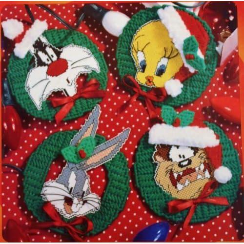 Plastic Canvas Christmas Ornament Patterns.Plastic Canvas Christmas Ornaments Amazon Com