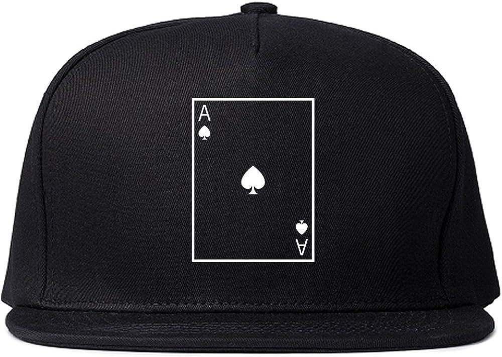 Ace of Spades Snapback Hat Cap
