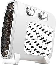 XYW-0007 Calefactor EléCtrica Calefactor Vertical, Horizontal, Tres Velocidades, Silencio, Ahorro De EnergíA, Hogar, BañO, Oficina, 1800 Vatios, Calentador, Total En Blanco Y Negro, 10x22.5x24.5cm