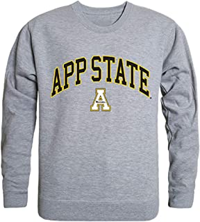 Appalachian State Mountaineers Black Long Sleeve Quarter Zip Pull Over