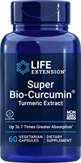 Life Extension Super Bio-Curcumin Turmeric Extract 400mg, 60 Vegetarian Capsules