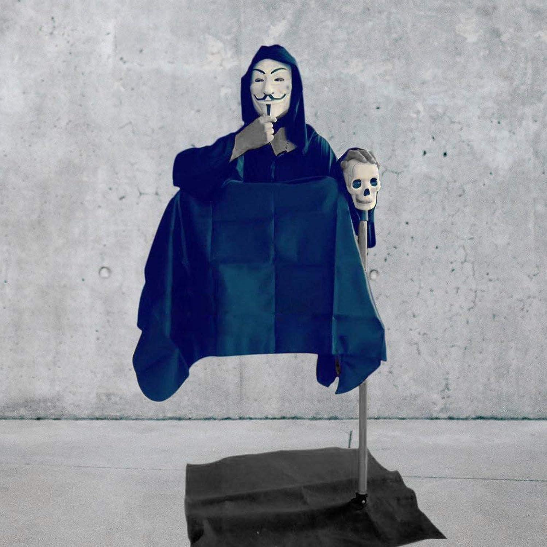 Doowops Der schwimmende Illusionstrick der Mann-Illusion, schwebender Stuhl-Mann-Straennahaufnahme-Klassische Klassische Gimmick-Stütze Lustige Mentalismus-Magie