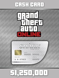 Grand Theft Auto Online: Great White Shark Cash Card (GTAマネー $1,250,000) 【Windows版】 [オンラインコード]