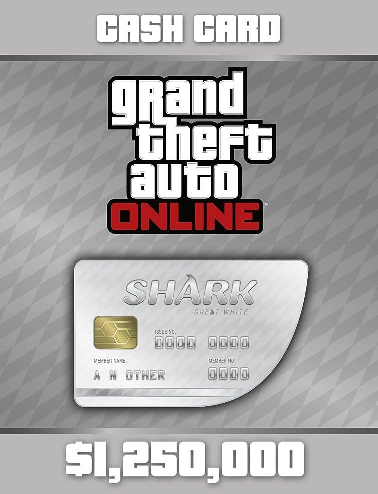 調子暖炉緩やかなGrand Theft Auto Online: Great White Shark Cash Card (GTAマネー $1,250,000) 【Windows版】 [オンラインコード]