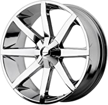 KMC Wheels KM651 Slide Triple Chrome Plated Wheel (20x8.5