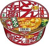 どん兵衛 天ぷらそば ミニ 46g ×12食 [西日本向け]