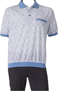 Safe Harbor Men's Classic-Fit Banded-Bottom Polo