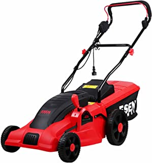 BKWJ Tondeuse à Gazon électrique avec Fil, Tondeuse à Gazon à conducteur Marchant 2000 W, déchaumeuse sans balais Robuste,...