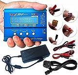 ATAIRSOFT (SKYRC iMAX B6 Mini Caricabatterie/scaricatore rapido bilanciamento Batteria Professionale per batterie Lipo Lilon Life NiCd NiMH PB RC con Alimentatore DC 15V 4A