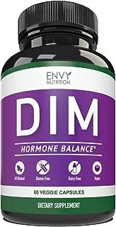 DIM 300mg Pills-All Natural Supplements for Men & Women Estrogen Balance, Menopause Relief, Estrogen Blocker and Hormonal Acne Treatment: Plus BioPerine 5mg, 60 Day Supply