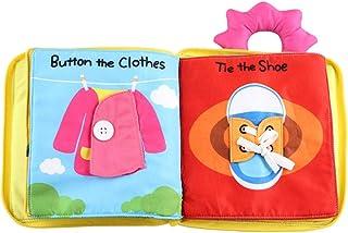 comprar comparacion Scrox 1x Libros de Tela para Bebes 0-1-3 años Gracioso Libros Blandos Lindo Juguete Interactivo Libro Educativo Bebe Inglé...