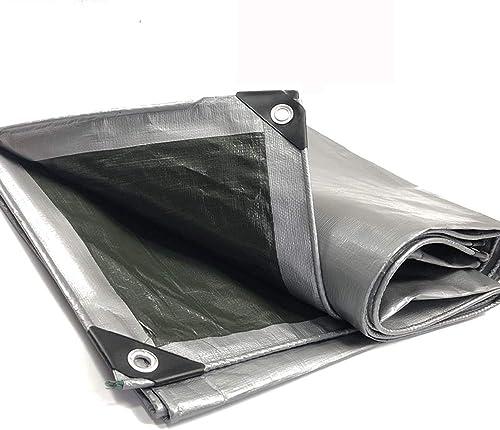 YHUJH Bache de Prougeection pour bache imperméable à l'eau, Prougeection Contre la Pluie épaissie et Pare-Soleil pour Camion Tricycle Balcony Cover Parasol (Taille   3  5m)