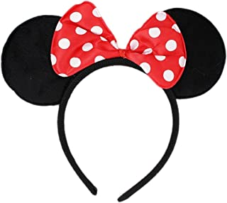 Mickey or Minnie Mouse Ears Headband