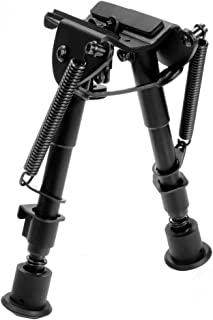 AVAWO Hunting Rifle Bipod – 6 Inch to 9 Inch Adjustable Super Duty Tactical Rifle Bipod