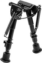 AVAWO Hunting Rifle Bipod - 6 Inch to 9 Inch Adjustable Super Duty Tactical Rifle Bipod