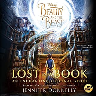 Beauty and the Beast: Lost in a Book audiobook cover art