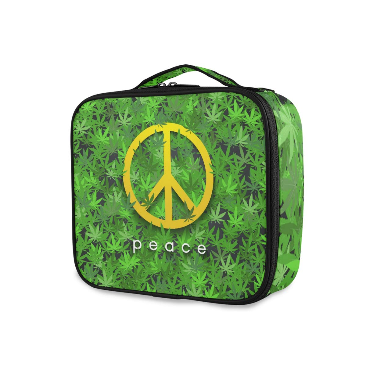 Travel Makeup Case Price reduction Peace Sign Trai Gorgeous Bag Portable Cosmetic