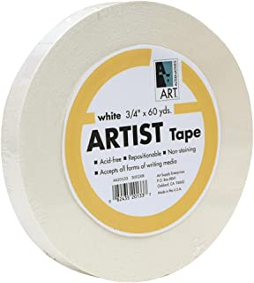 Economy White Artists Tape 3/4In X 60Yds
