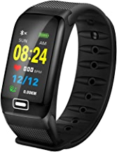 LIGE Fitness Tracker HR, Activity Tracker Watch with Heart Rate Monitor, Color Screen IP67 Waterproof Pedometer Sleep Monitor Step Counter Smart Bracelet for Kids Women Men …