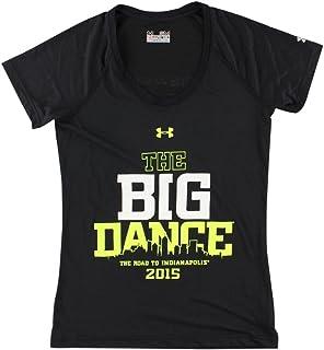Under Armour Women Final Four 2015 Big Dance T Shirt Black XL