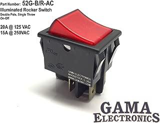 240 volt rocker switch