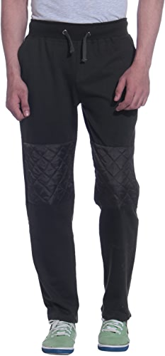 Royal Tag 7 Hommes's Fleece Track Pant Medium noir